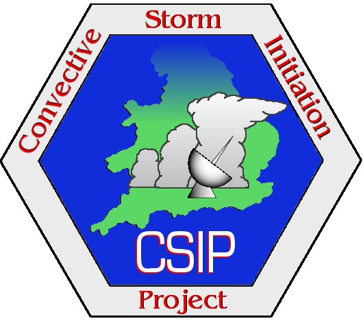 Convective Storm Initiation Project (CSIP) Logo
