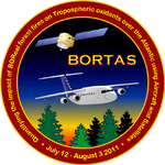 BOReal forest fires on Tropospheric oxidants over the Atlantic using Aircraft and Satellites (BORTAS) Project Logo