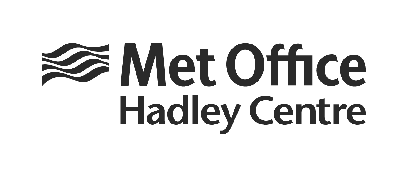 Met Office Hadley Centre Logo - black on white background