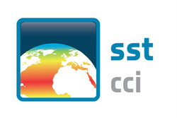 European Space Agency Sea Surface Temperature Climate Change Initiative (ESA CCI SST) Logo