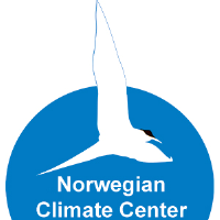 Logo for Norwegian Climate Centre (NCC)