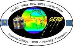 Geostationary Earth Radiation Budget Experiment (GERB) Logo