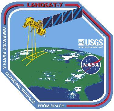 Landsat 7 Enhanced Thematic Mapper (ETM) Logo