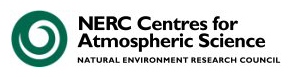 Old National Centres for Atmospheric Science (NCAS) Logo